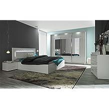 Suchergebnis auf Amazon.de für: schlafzimmer komplett weiß ...