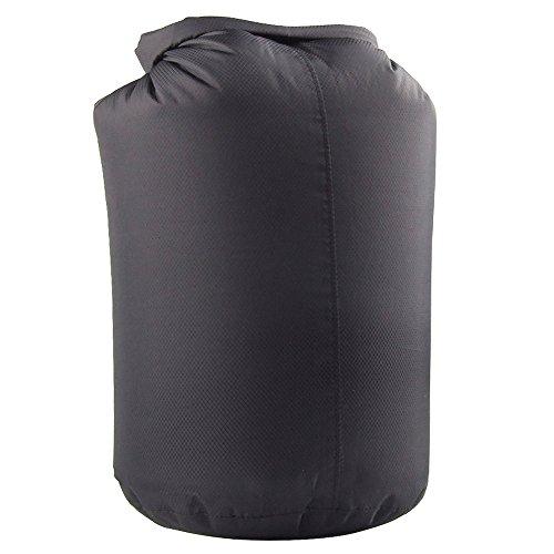WasserdichtKompressionssack Trockentasche Tragetasche Trockenbeutel Dry Bag Sporttasche für Camping Schwimmen Wassersport - Schwarz, 80L (Kajak Trinken Zubehör)