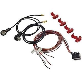 Adapter TMC BOX Tuner Kabel Antennenkabel SET NAVI kompatibel mit plus MFD Audi Seat Skoda VAG
