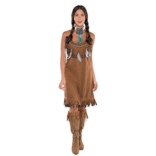 Indianer Kostüm Damen Gr. - Indianerin Kostüm