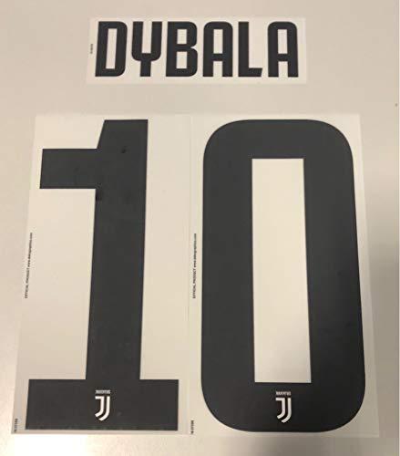Flock Original Juventus Turin Trikot 25cm - Dybala 10