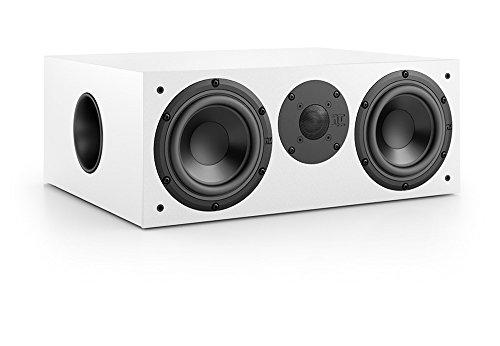 Nubert nuBox CS-413 Soundbar-/Centerspeaker 2-Wege (2X 15,0 cm Tieftöner, 2,5 cm Hochtöner, 220/300 Watt, 55-22000 Hz), Stück, Weiß/Weiß
