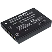 PowerSmart® 1600mAh Batteria per Sanyo Xacti DMX-FH11, DMX-HD1000, DMX-HD1010, DMX-HD2000,