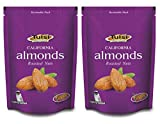 Tulsi California Almonds Roasted Nuts Lightly Salted 200gm x 2 (400g, Pouch)