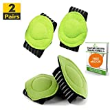Fitbury 4Pcs Plantar Fasciitis Arch Supports & Free eBook, [2 Pairs] Flat Feet