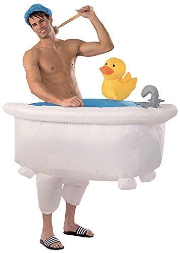 Original Cup - Disfraz hinchable de bañera unisex para adulto, disfraz de persona bañándose, talla única