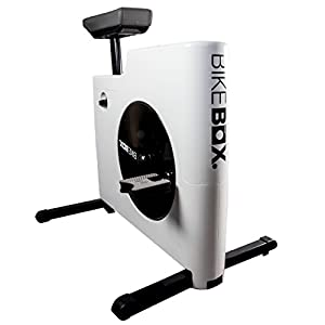 BikeBox Fuß-Trainer für Zuhause, Pedal-Trainingsgerät mit 8 Widerstandstufen zum handfreien Training, platzsparend und klappbar
