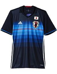 adidas JFA H Jsy - Camiseta para hombre, color azul / negro / rojo