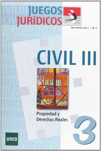 Juegos jurídicos. Derecho civil III. Nº 3 (Ciencias Sociales y Jurídicas)