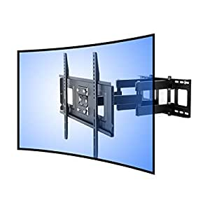 fleximounts cr1 curved tv wandhalterung 32 65 zoll elektronik. Black Bedroom Furniture Sets. Home Design Ideas
