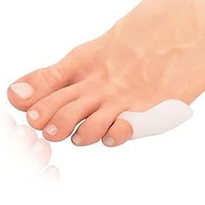 Dr. Frederick's Original Cuscinetti per calli su misura – 4 cuscinetti – Cuscinetto in gel morbido – Sollievo per calli su misura – Trattamento per calli – Misura unica – Indossare con le scarpe