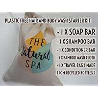 Plastic Free Hair and Body Wash Starter Kit - Handmade in Devon UK (SW England)
