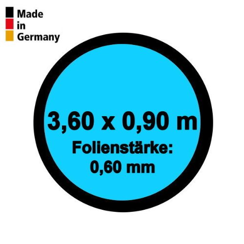 Pool Innenhülle Rund 3,60m x 0,90m Folienstärke 0,60mm