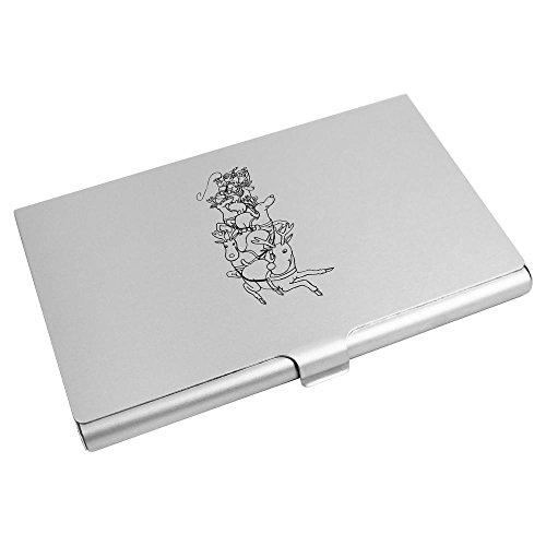 Preisvergleich Produktbild 'Sankt Schlitten' Visitenkartenhalter / Kreditkarte Geldbörse (CH00002052)