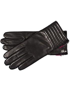 Roeckl Damen Handschuh 'Cosmopolitan' Black/Red
