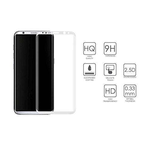 Samsung Galaxy S8 Cristal Protector pantalla