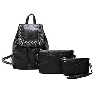 Milkate Backpack Women Knitting School Bags Girls Backpacks style2 25x16x30cm