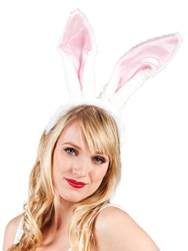 RABBIT with big ears hairband Pink Bunny (accesorio de disfraz)