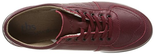 TBS TechnisyntheseAstral - Scarpe sportive con stringhe Donna Rosso (Rouge (7766 Grenat))