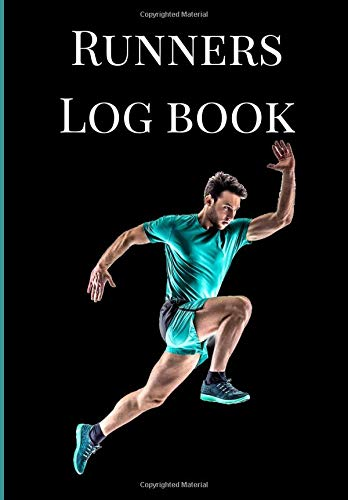 Runners Log book: A Black Green Theme One Year Daily Running, Jogging, Cycling  And Walking Journal Exercise Athletes Logbook, Tracker, Diary, ... Cross Country Races, Olympics Training