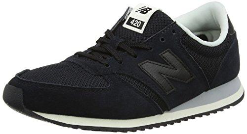 New Balance Damen 420 Sneaker, Schwarz (Black), 39 EU (New Balance 420 Womens Schuhe)