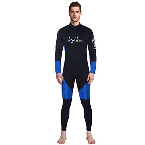 Layatone Trajes de Neopreno para Hombre Mono Premium Traje de Buceo de  Cuerpo Entero de Neopreno de 3mm para Buceo con Tubo de respiración Salto  de Surf de ... d1c3b5e60e2