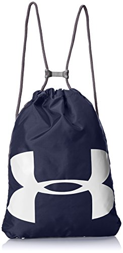 Under Armour UA Ozsee Sackpack Bolsa de Equipaje, Unisex Adulto, Azul (Midnight Navy/Graphite 410), Talla única