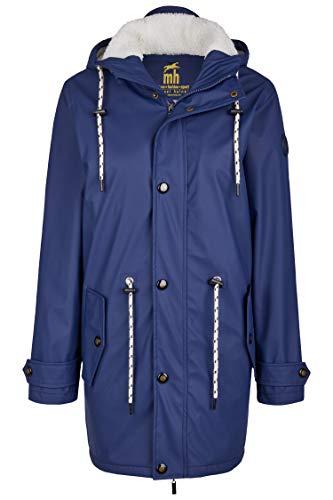 Friesennerz   Maritime Jacke   Regenjacke   veredelt   Das Original aus Ostfriesland in 2 Modell Norderney (3XL, Blau mit Fleece)