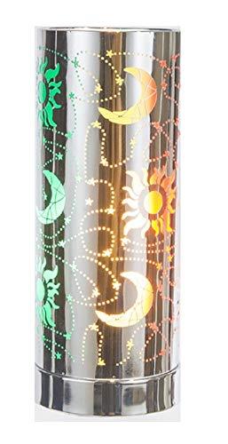 Touch Sensitive Aroma Touch Lampe Moon & Stars Wachs Melts/Öle 3 Einstellungen -