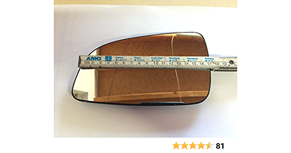 Dapa 1004168 Spiegelglas Für Astra H Aussenspiegel Fahrerseite Links Beheizt Auto