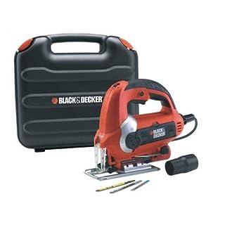 Tools Centre Black & Decker KS900EKX 600-Watt Variable Speed Slightline Autoselect Pendulum Jigsaw