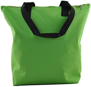 Weimi de la mujer de nailon impermeable ligero bolso Shopper bolsa de la compra varios colores