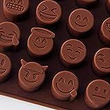 WANG Emoji Expression kuchenform silikonform Kuchen Pralinen Formen süßigkeiten backenwerkzeuge, 1