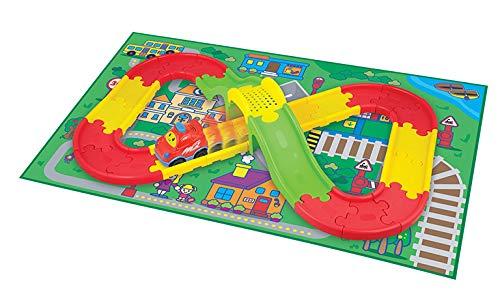 WinFun Juguete con Actividades para Bebes, Color Rojo (CPA Toy Group 7301250)