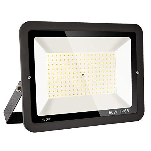 150W LED Foco exterior alto brillo Proyector led exterior de impermeable IP65,Blanco...