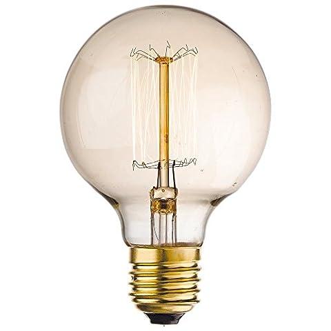 Firstlight 4601E2740W Vintage-Lampe, transparent