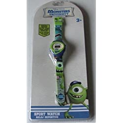 Disney Pixar Monsters University Kids Wrist Watch - Sports Digital Watch