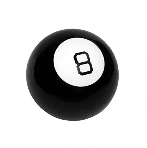 Mystic 8 Ball Scherzartikel - Wahrsager Billardkugel Spaßartikel Magische Billardkugel Wahrsagen