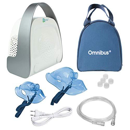 Omnibus Premium BR-CN151 Inhaliergerät Inhalator Aerosol Therapie Vernebler Inhalation Kompressor -