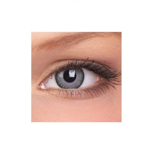 ColourVUE Mode Farbige Kontaktlinsen - Die letzten 3 Monate (Fusion Grey Violet) -