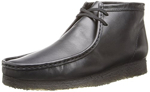 Clarks Originals Wallabee Stiefel Black Leather