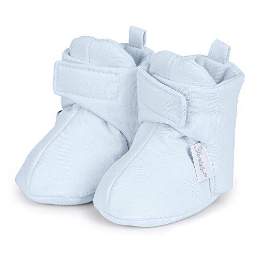 Sterntaler Baby-schuh, Chaussures de Naissance bébé garçon Blau (Bleu)