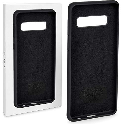 Roxx Hard Case Silikon Hülle | Kompatibel mit Samsung Galaxy S10 | Wie das Original nur Besser | Testsieger