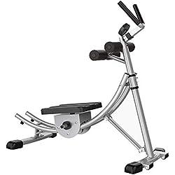 TINSAHW Accueil Abdominale Formateur, AB Vertical 5 Minute Shaper Taille Core Trainer AB Toner Cruncher Fitness Equipment Machine W/LED Compteur