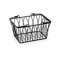Spectrum 90810 Small Twist Basket, Black