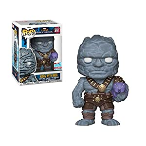 Funko-Pop.Color Marvel: Thor Ragnarok Color Korg con Miek (Bobblehead),, 30763