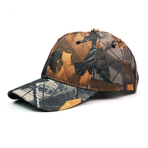 Rawdah Unisex Hombres Mujeres Gorra de béisbol deporte sol adjustable Hat