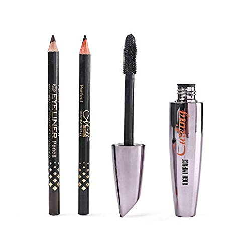 Lamavido 1 Mascara + 2 Eyeliner Black / Brown Kit