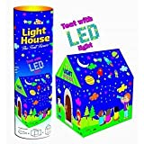 Zest 4 Toyz Tent House with LED Lights