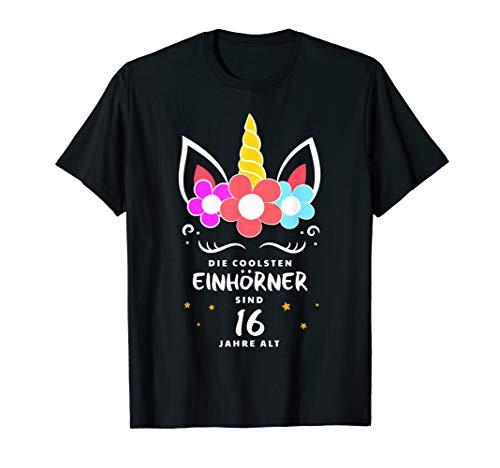 Cooles Damen Kostüm - Cooles Einhorn Tshirt - Kostüm für